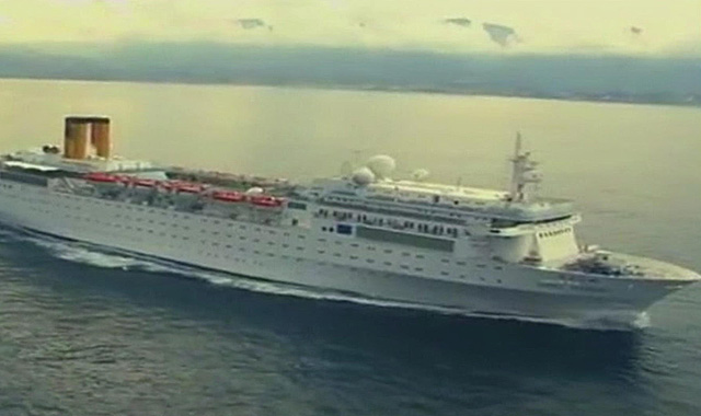 Costa Cruise Ship Adrift to Island