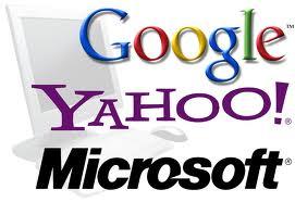 Google, Yahoo and Microsoft