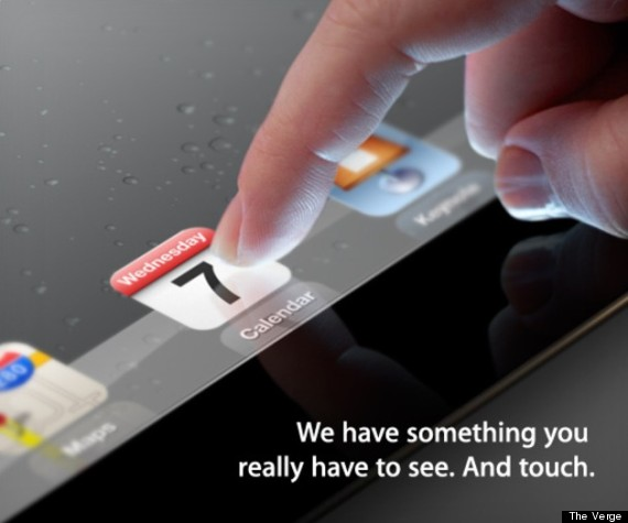 iPad 3 launch? Apple sends invite to March 7 event