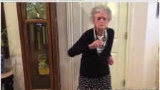 90-year-old Grandma Dance Tribute to WHITNEY HOUSTON (Photo and Video)