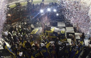 Kenseth wins the 2012 Daytona 500