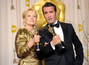 Meryl-Streep-Jean-Dujardin-Oscars2012