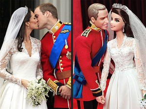 Prince William & Duchess Kate Barbie