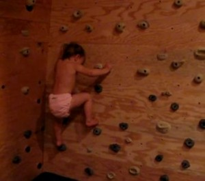 22-Month-Old Toddler boulders
