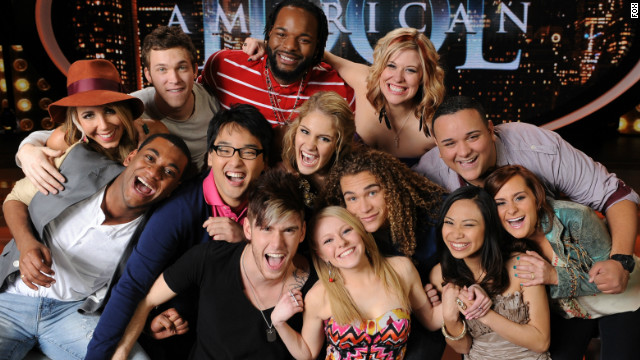 American Idol, Top 13 Finalists (Photo)