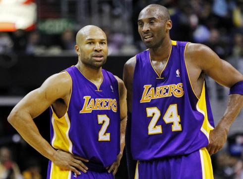 NBA: Lakers guard Derek Fisher traded to the Houston Rockets
