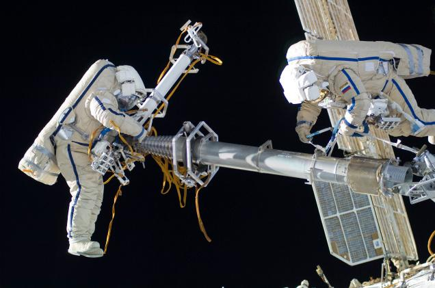 International Space Station Crew forced to take shelter
