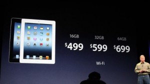 New iPad Price