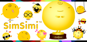 Simsimi App for Android and iPhone