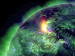 Two extreme solar flare chases towards Earth (Video)