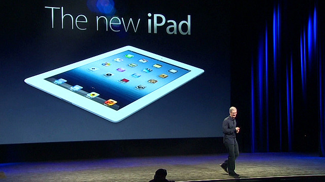 Apple's New iPad: Apple unveils new high-definition iPad