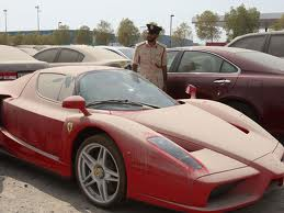 Abandoned Ferrari Enzo supercar to be auctioned in Dubai (Photo)