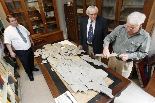 Godzillus Fossil: The 150-pound fossil recovered in Kentucky