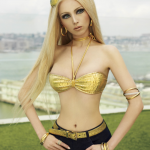Ukrainian Human Barbie Doll Valeria Lukyanova Poses for V Magazine