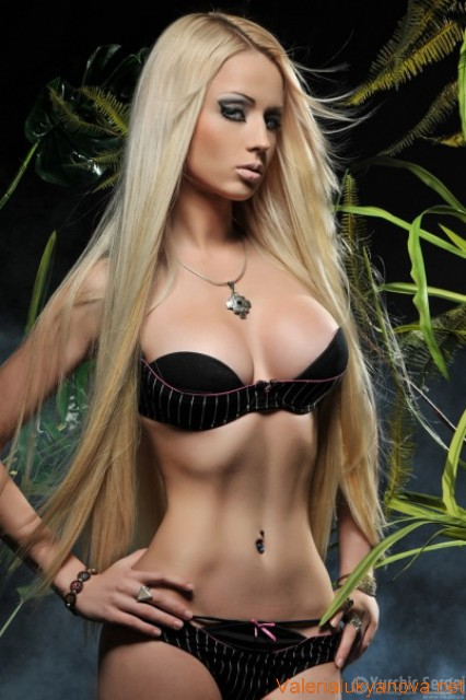 Valeria Lukyanova: The Real-Life Ukrainian Barbie Doll Swimwear Collection