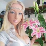 Valeria Lukyanova Ukraine model real-life Barbie doll