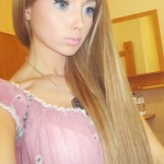 Valeriya Lukyanova real life ukrainian barbie doll