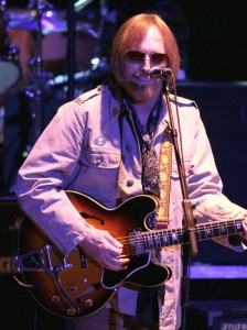 Tom Petty performs in concert with the Allman Brothers Band