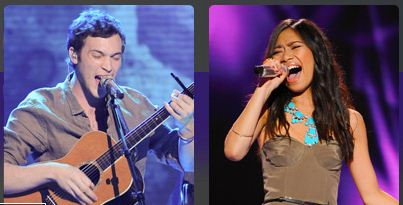 American Idol 2012 Results - Top 2 - Jessica Sanchez vs Phillip Phillips