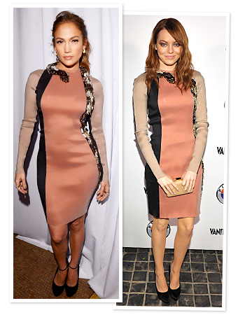 Jennifer Lopez wearing a $7800 Lanvin Snake Dress