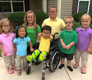 Johnstons: 'The Real Life Seven Dwarfs', One Little Happy Family