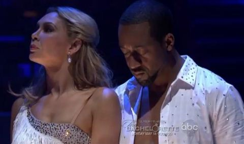 Kym Johnson and Jaleel White on DWTS 2012