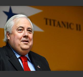 Titanic II Clive Palmer, Australian Billionaire