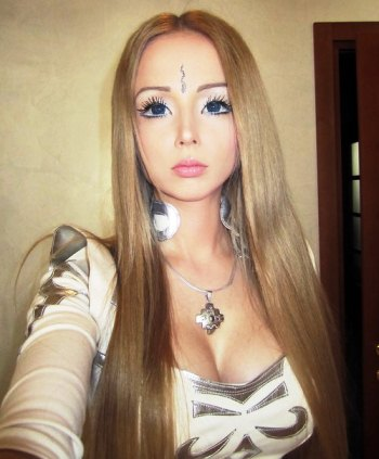 Real-Life Ukrainian Barbie Doll, Valeria Lukyanova Responds to Criticism (Video)