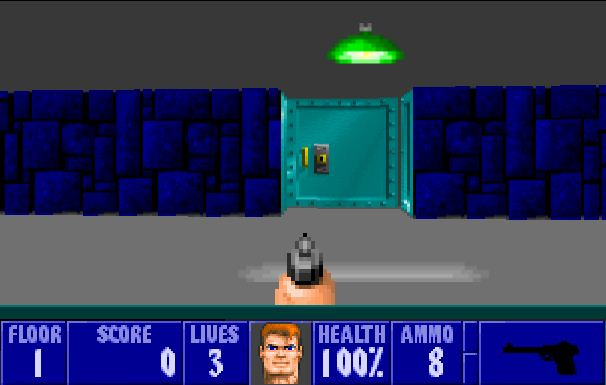 "Free browser-based ""Wolfenstein 3D"" released"