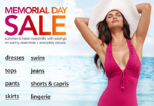 Memorial Day Sales 2012: Macy's and JC Penney amazing prices, great deals, coupons & free shipping
