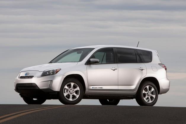 "toyota rav4 ev ""First All-Electric SUV"""