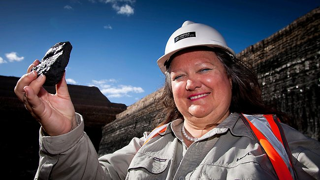 World's Richest Woman: Australian tycoon Gina Rinehart