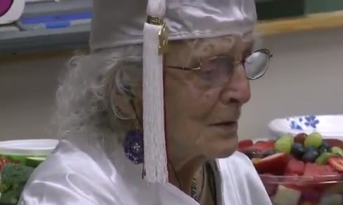 Ann Colagiovanni gets her high school diploma at 97 in Shaker Heights