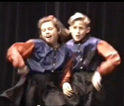 Gosling Sweat Video: Ryan Gosling singing and dancing in a Mormon talent show