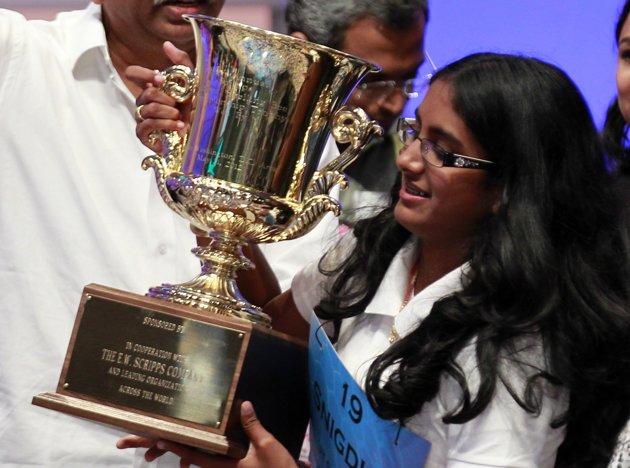 Scripps National Spelling Bee Champion Snigdha Nandipati