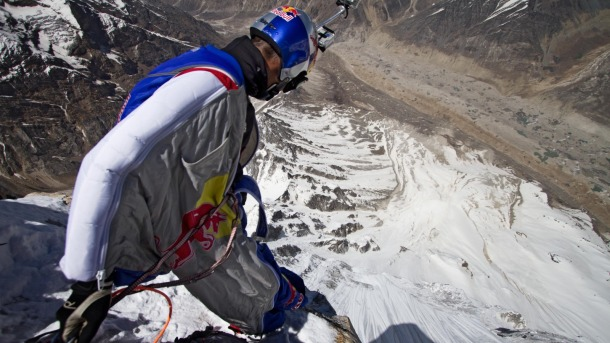 Valery Rozov Jumps From Himalaya Peak