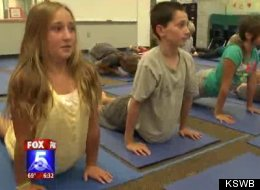 "Parents versus school due to alleged ""indoctrination yoga"""
