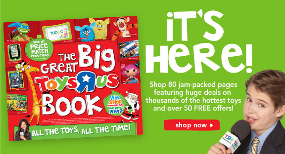 2012 Toys R Us book is out; deals and freebies hit the internet