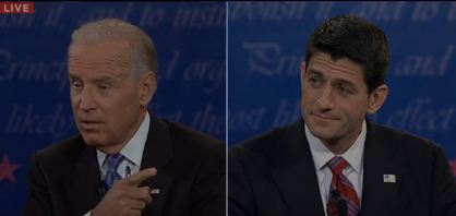 U.S. Vice Presidential Debate 2012 Live: Watch Joe Biden & Paul Ryan face off in Kentucky