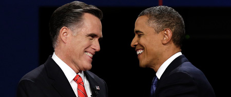 Presidential Debate 2012: Watch the face off between Barack Obama and Mitt Romney live