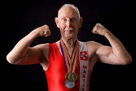 93-year-old bodybuilder Charles Eugster, A medical marvel