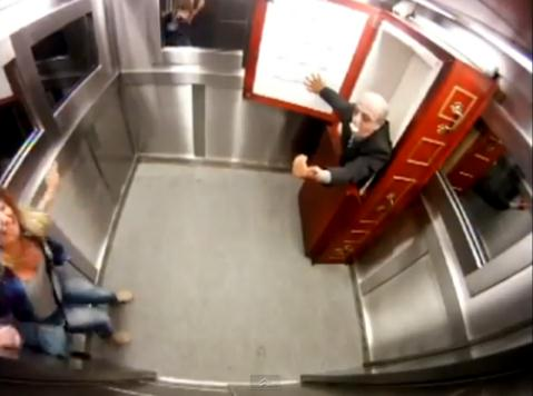 Coffin Elevator Prank Video Goes Viral