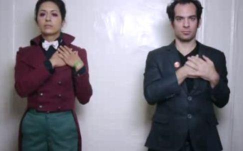 Couples Break Up Announcement