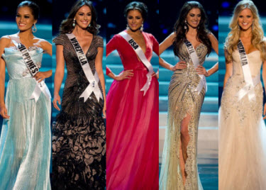 featured video miss universe 2012 top 5 finalists