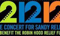 12.12.12: Watch the Concert for Sandy Relief (Live on YouTube)