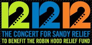 The Concert for Sandy Relief