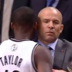 NBA Coach Jason Kidd Spills His Soda (video)